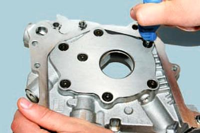 Ремонт масляного насоса Форд мондео 4 (2007-2014)