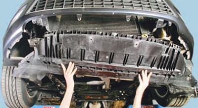 Замена датчика температуры наружного воздуха Форд Мондео 4 (2007-2014)
