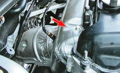 Система выпуска отработавших газов Форд мондео 4 (2007-2014)