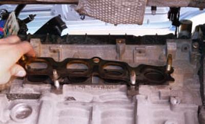 Снятие и установка катколлектора и замена его прокладки Форд мондео 4 (2007-2014)