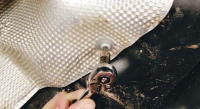 Снятие и установка термоэкранов Форд мондео 4 (2007-2014)