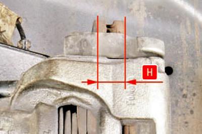 Проверка степени износа тормозных колодок и дисков Форд мондео 4 (2007-2014)