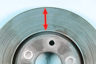 Замена тормозного диска тормозного механизма переднего колеса Форд мондео 4 (2007-2014)