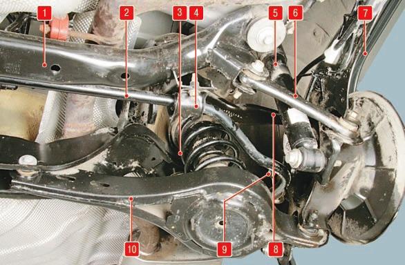 Задняя подвеска Форд мондео 4 (2007-2014)