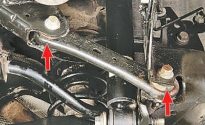 Проверка технического состояния деталей задней подвески на автомобиле Форд мондео 4 (2007-2014)