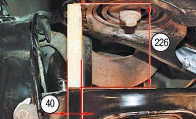 Замена переднего нижнего рычага задней подвески Форд мондео 4 (2007-2014)
