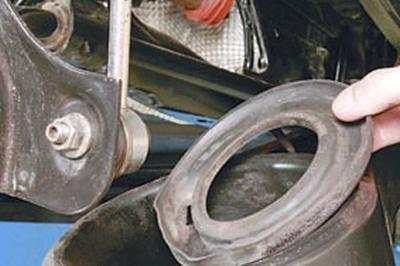 Замена пружины задней подвески Форд мондео 4 (2007-2014)